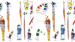 Painting: be proud of your first watercolour painting