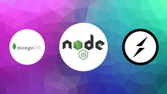 [Free] Complete NodeJS course with express, socket io and MongoDB