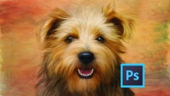 Digital Pet Paintings Using Photoshop