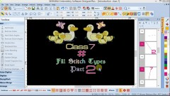 #07: Bernina Software 7 The Fundamentals of Fill Stitch 2