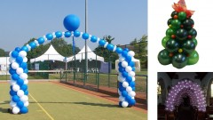 Easy to learn basic Balloon Decorating for parties & events