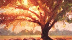 Impressionism - Paint this Autumn painting in oil or acrylic
