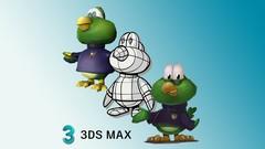 Personagem Low Poly para Games com 3D Studio Max