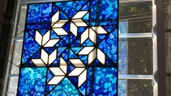 Learn to Make a Basic Leaded Stained Glass Window