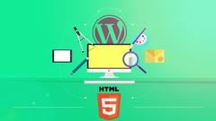 Professional Easy HTML5 Site with Wordpress