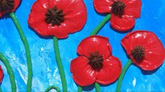 Make Your Poppies POP OUT Real to Life: Paint in 3-Dimension