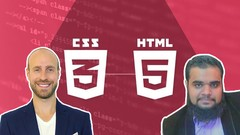 The Complete HTML5 & CSS3 Course Build Professional Websites