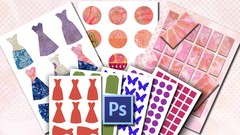 Digital Collage Sheets Quick and Easy with Photoshop Kit