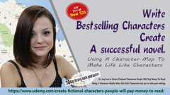 Write Bestselling Characters - Create a successful novel.