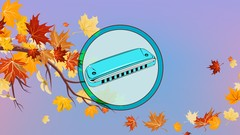 Instant Harmonica - play jazzy Autumn Leaves now (part two)