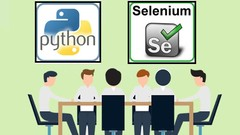 Selenium-Python|Best for Automation beginner|Live Apps-30+hr