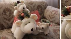 Aprende a elaborar hermosos osos polares