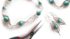 Jewelry Making: Decorative Wire Wrapping 1 - Herringbone