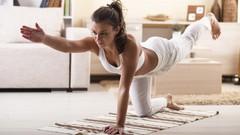 Yoga para principiantes para hacer en casa en español.
