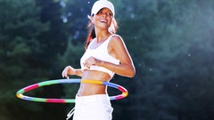Learn Hula Hooping with Tricks for Beginners