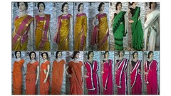 Wearing the great Indian Saree in most stylish way!