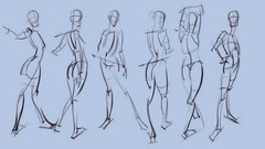 The Power of Gesture Drawing: how to gesture draw figures