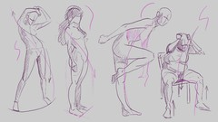 Helpful Art Teacher Gesture Drawing