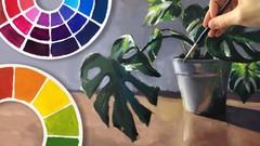 Teoría del Color: El arte de la mezcla y la pintura realista