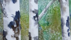 Trees in Watercolours