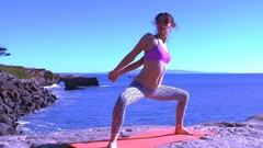 Intermediate Vinyasa Yoga & Cardio Interval Training Fusion