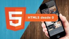 Imágen de Aprende HTML5 desde 0 con 60 ejercicios practicos +proyectos