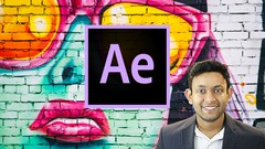 ✔️ After Effects :Create Cool Motion Graphics in Adobe AE ✔️