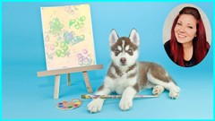 Dog Paw Art Training Painting Class With Fun Dog Games Udemy