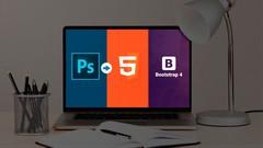 Imágen de Creando Sitio web desde cero (DE PSD a HTML5, Bootstrap 4)