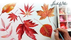 Paint Realistic Watercolour and Botanicals - CHASING AUTUMN