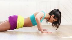 Effektives Training für zu Hause - Fit werden mit Wischmopps