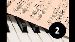 Aprendiendo piano: Lectura de piezas clásicas Vol.II
