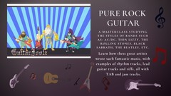 Pure Rock Guitar : Play Guitar Like the Gods of Rock!