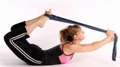 How To Flex Your Spine And Get Dramatic Results -Yoga Strap!