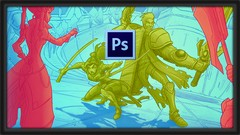 Learn to Composite a 2D Action Shot in Photoshop