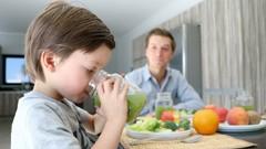 Hijos comiendo sano en sólo 10 pasos