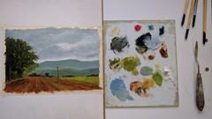 Fine Art: Painting A Landscape With Oil Colors