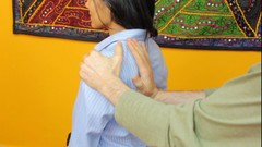 Shiatsu for exhausted office workers