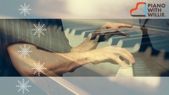 "Piano With Willie: Learn to Play ""Let It Snow"" on Piano"