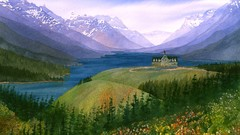 Painting Wild Places with Watercolors: Waterton Lakes