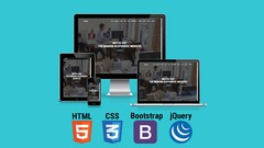 Build Modern Responsive Website With HTML5, CSS3 & Bootstrap