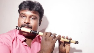 Flute notations of Tamil play backs songs.