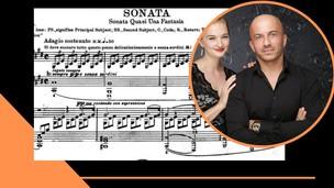 Playing the Moonlight Sonata