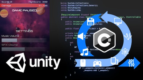 Agile & Multi-Platform Game Dev. with Unity – Tier 1