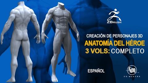 Netcurso - //netcurso.net/creacion-de-personajes-3d-fundamentos-de-anatomia-humana-i