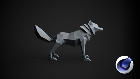 [Udemy Discount Global] – Learn Cinema 4D: Low Poly Wolf