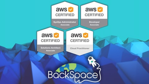 Amazon Web Services (AWS) Certified - 4 Certifications!