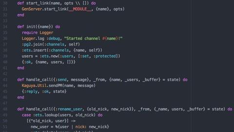 Elixir : Start programming on best concurrent language