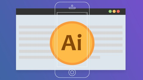 Free Adobe Illustrator Tutorial - Adobe illustrator For UI / UX Design
