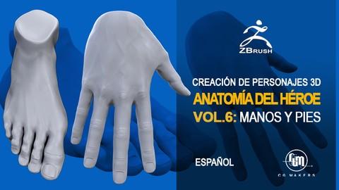 Netcurso - //netcurso.net/creacion-de-personajes-3d-con-zbrush-pt3-manos-y-pies
